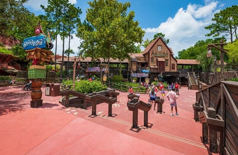 Splash Mountain at Walt Disney World in Orlando, Florida