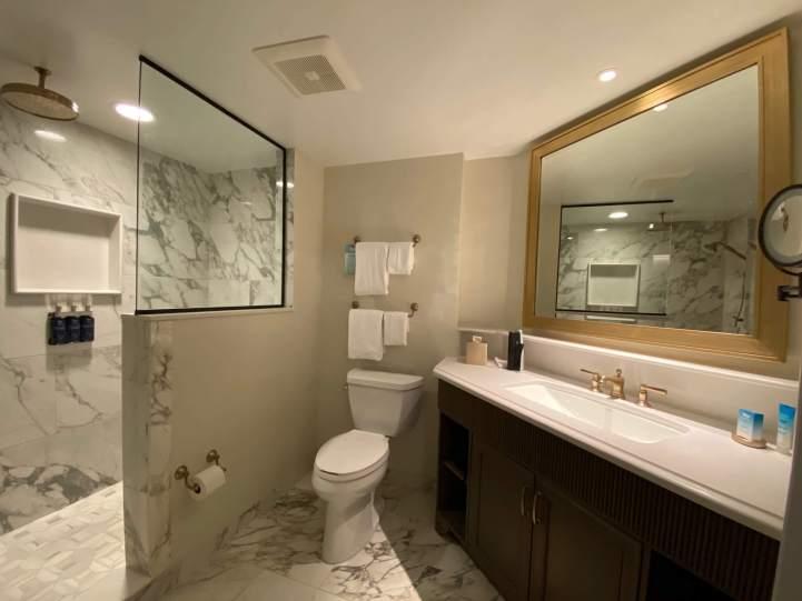 Bathrooms at Riviera Resort in Walt Disney World