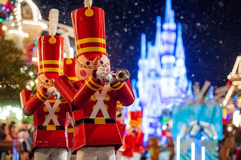 Toy soliders at Mickey's Very Merry Christmas Party