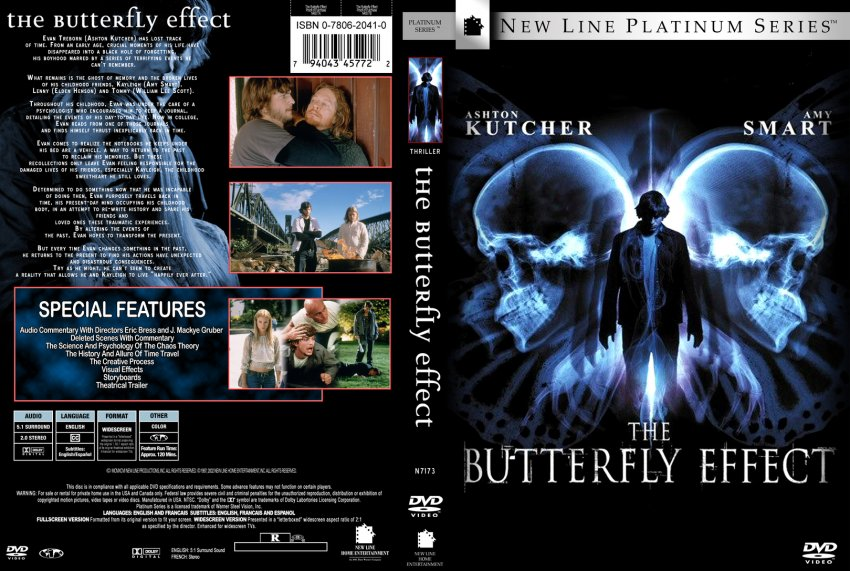 The Butterfly Effect Movie Dvd Custom Covers