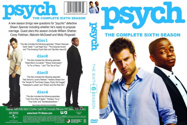 Image result for psych Season 6