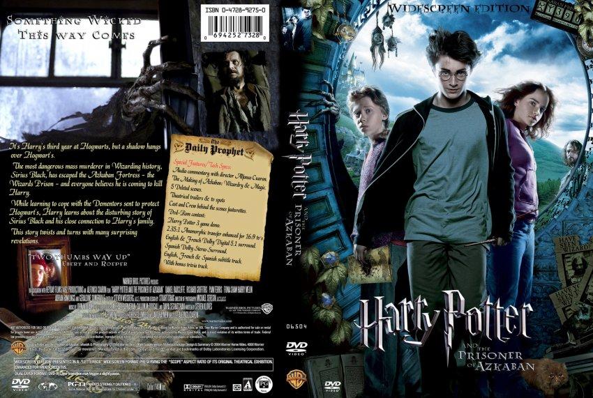Azkaban Harry Cover Prisoner Blu And Ray Potter