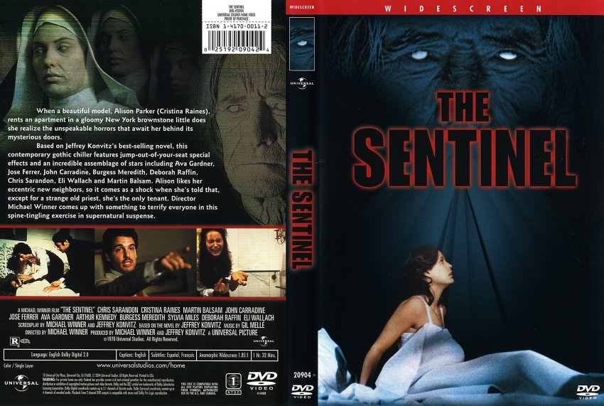 The Sentinel Movie Dvd Scanned Covers 10sentinel The