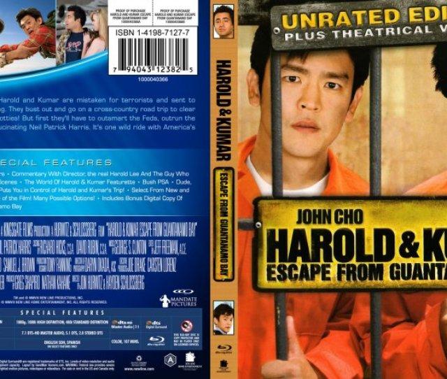 Harold Kumar Escape From Guantanamo Bay Movie Blu Ray Custom Covers Harold And Kumar Escape From Guantanamo Bay Blu Ray Custom 2 Dvd Covers