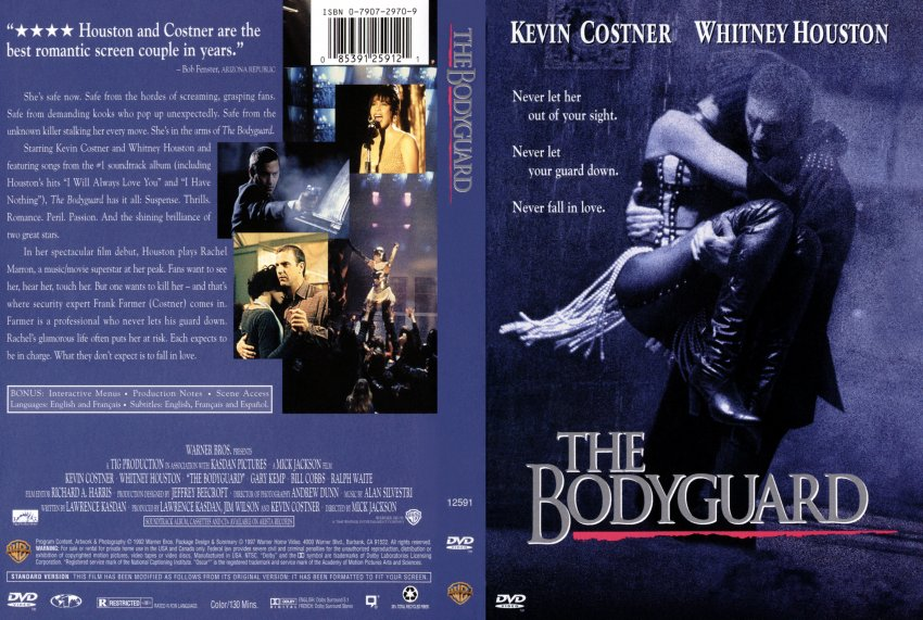 Bodyguard - Movie DVD Scanned Covers - 55bodyguard scan ...