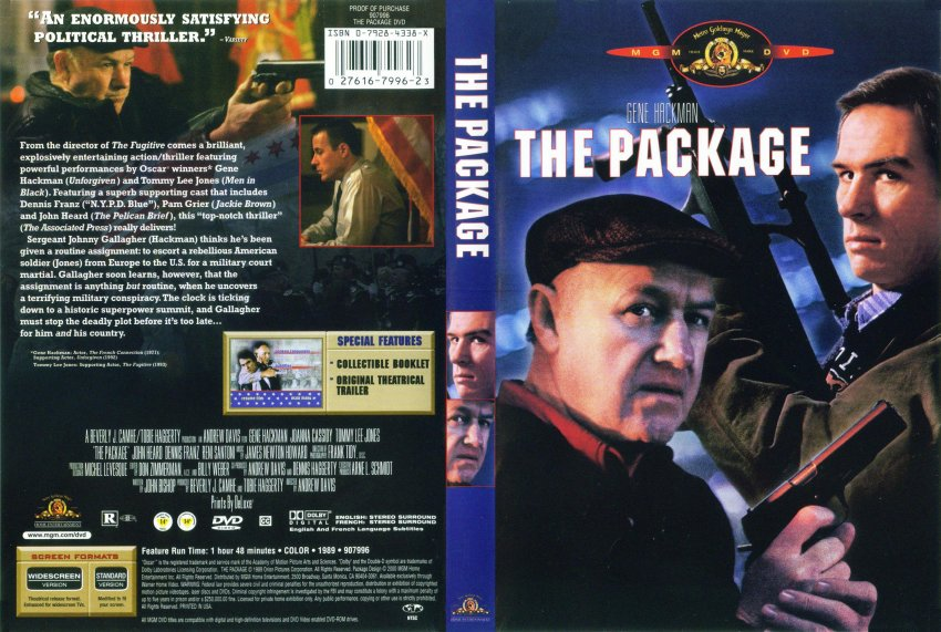 The Package - Movie DVD Scanned Covers - 6Package :: DVD Covers