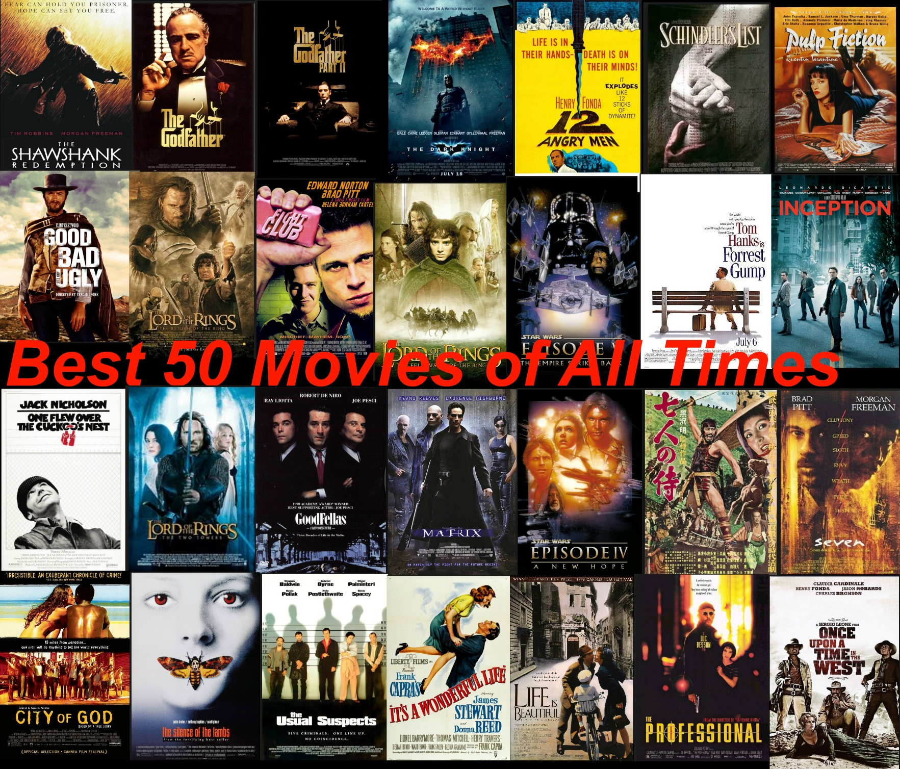 Image result for top ten movies of all time