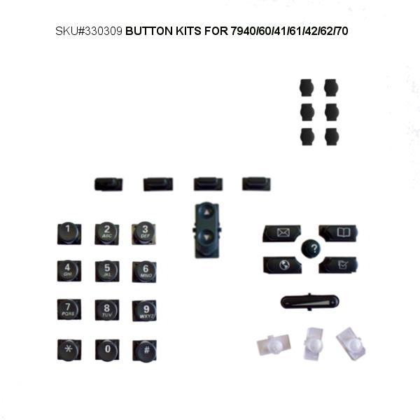 Button Kit Set for Cisco 79XX IP Phones