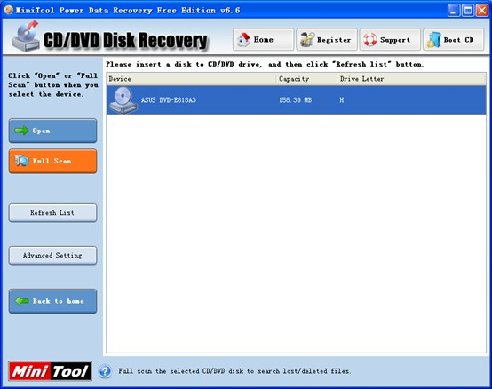 Video Recovery from DVD1