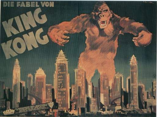 King Kong 1933 Dvd Cover