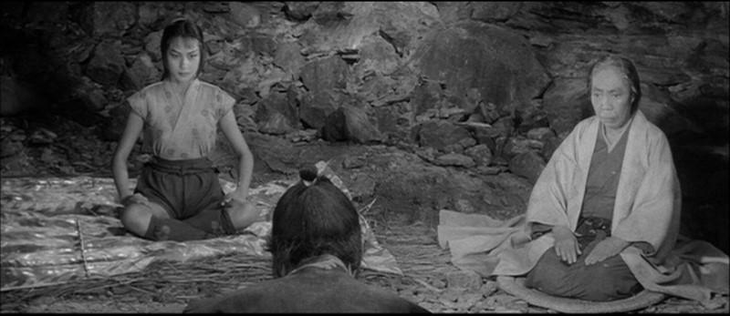 Fotograma de La Fortaleza Escondida (1958) de Akira Kurosawa, con Toshiro Mifune.