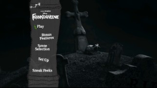 Frankenweenie Bluray 3D Bluray  DVD Review  DVDizzycom