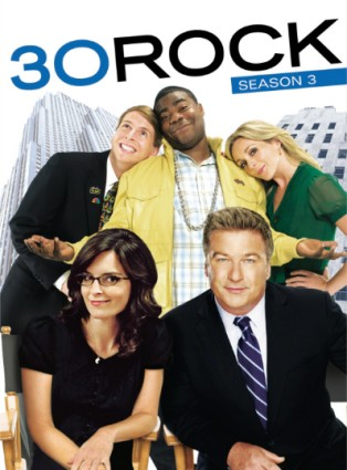 30 Rock DVD cover series 3
