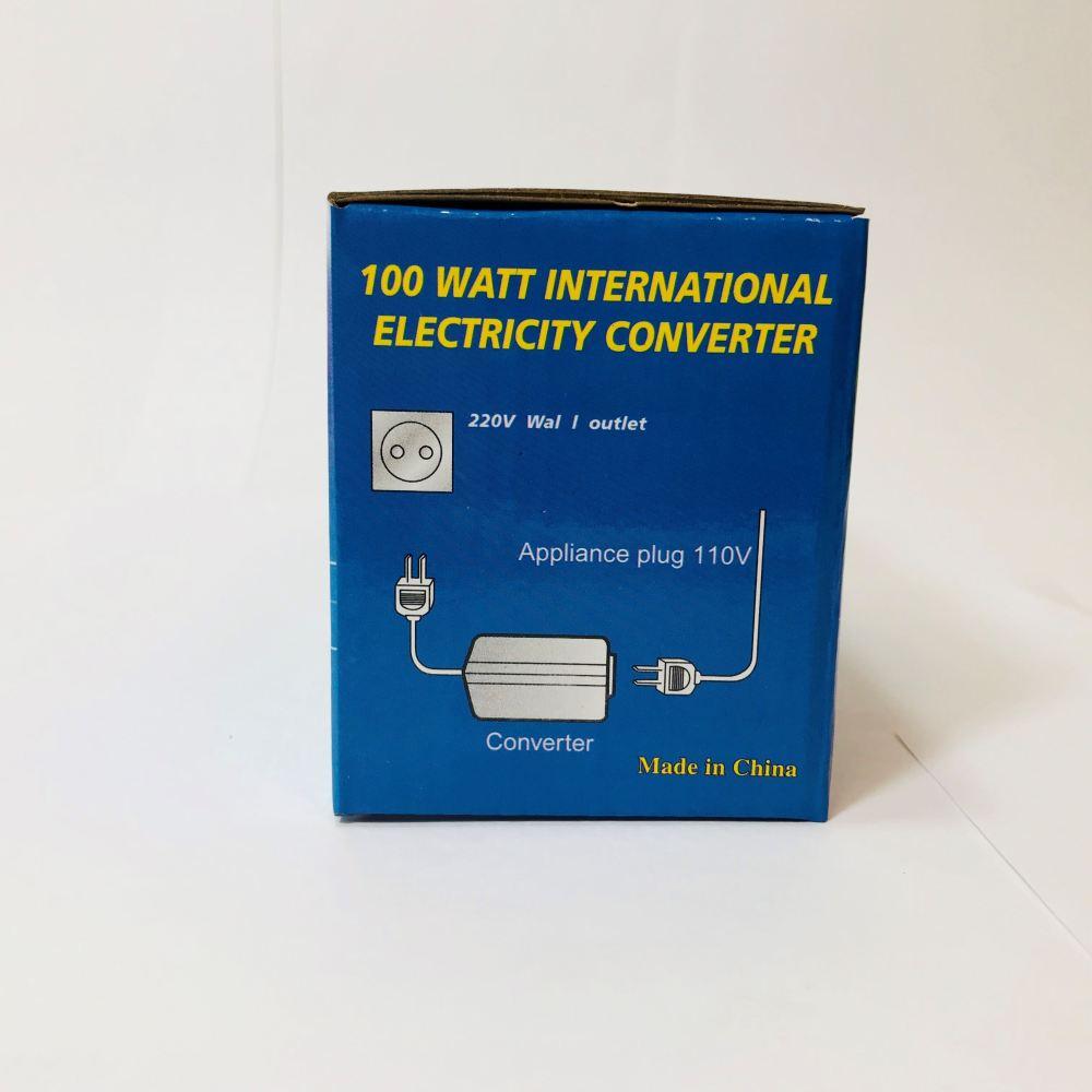 Seven Star - 100 Watt 220 240 110 120 Volt European Socket Power Converter Step