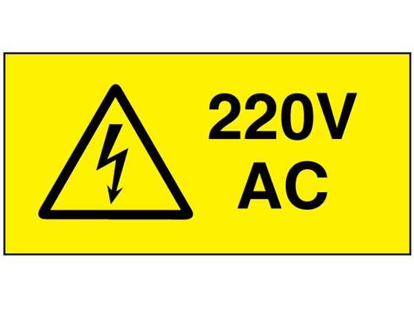Electrical Specifications For 110 Vac And 220 Vac Wiring