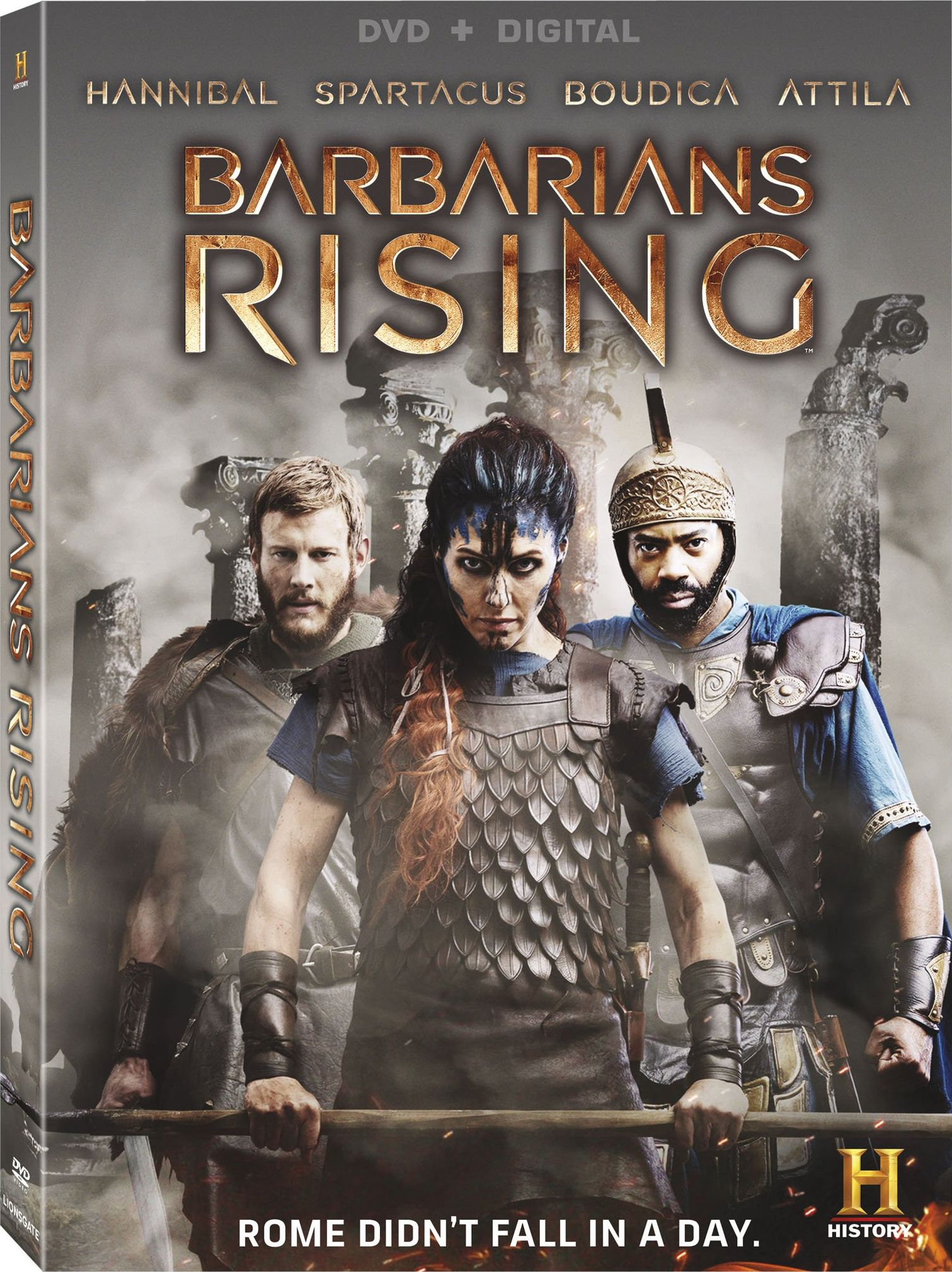 Barbarians Rising DVD Release Date