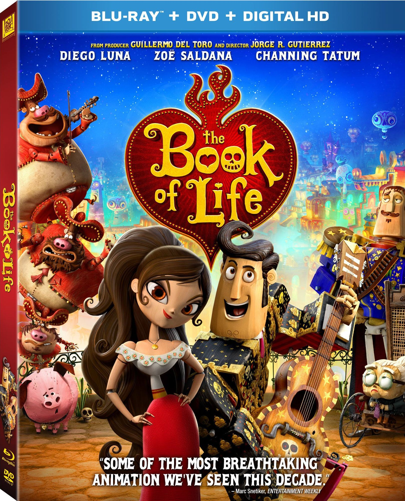 Book Of Life Dvd Release Date January 27