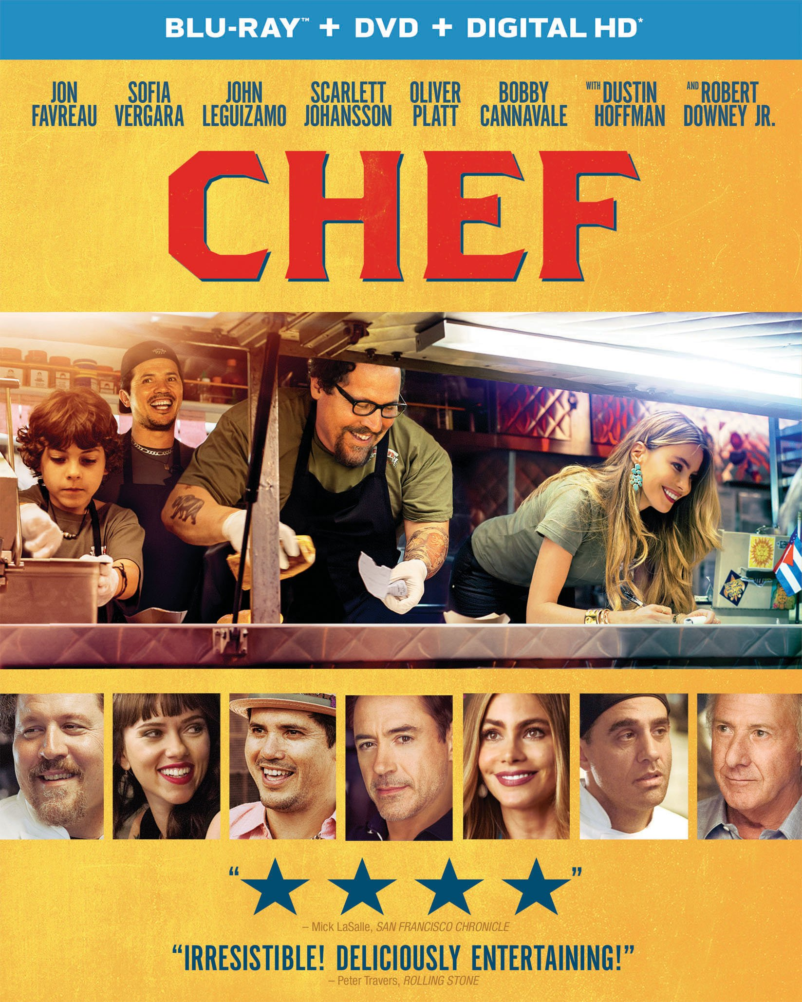 Chef DVD Release Date September 30 2014