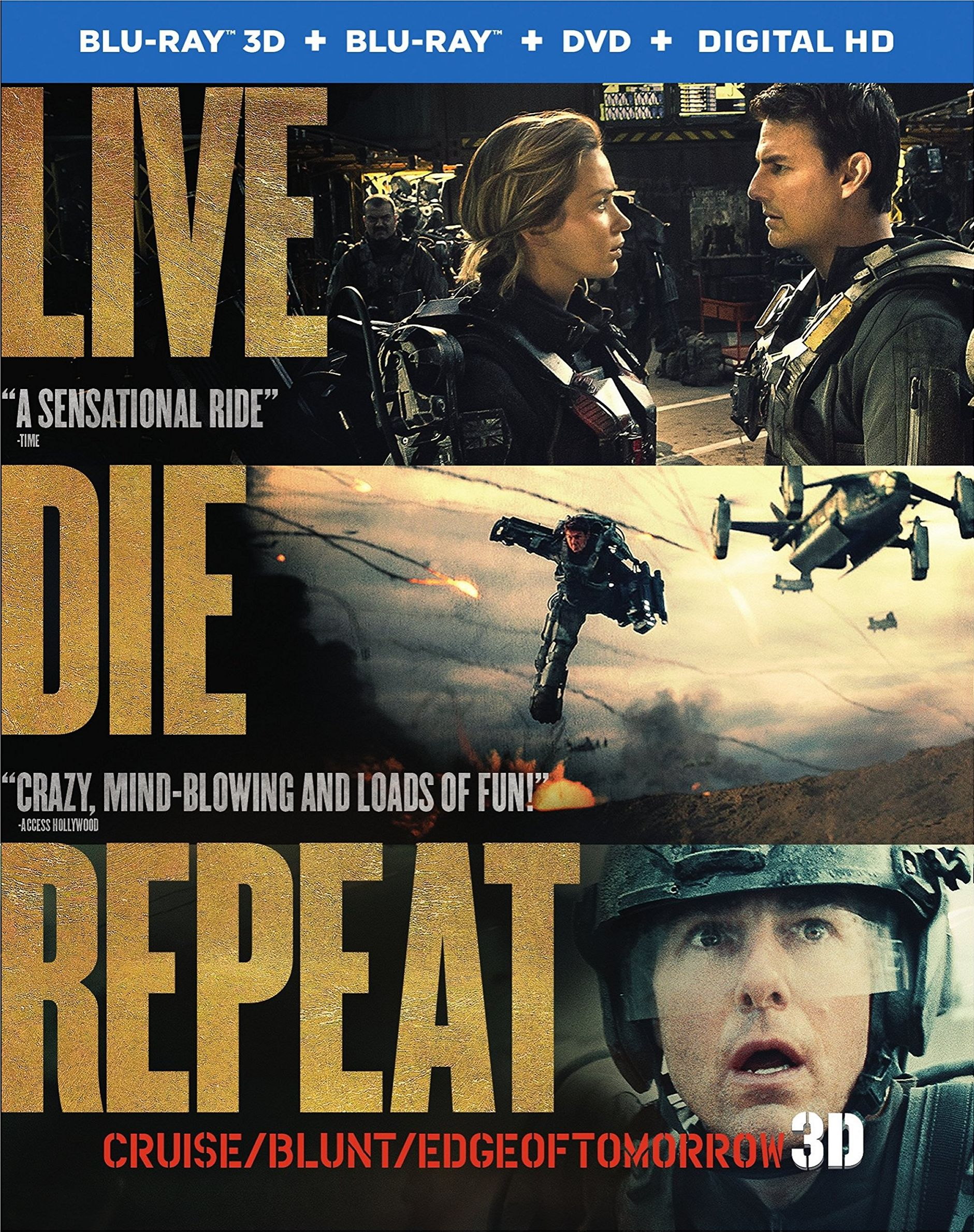 Edge of Tomorrow DVD Release Date October 7 2014