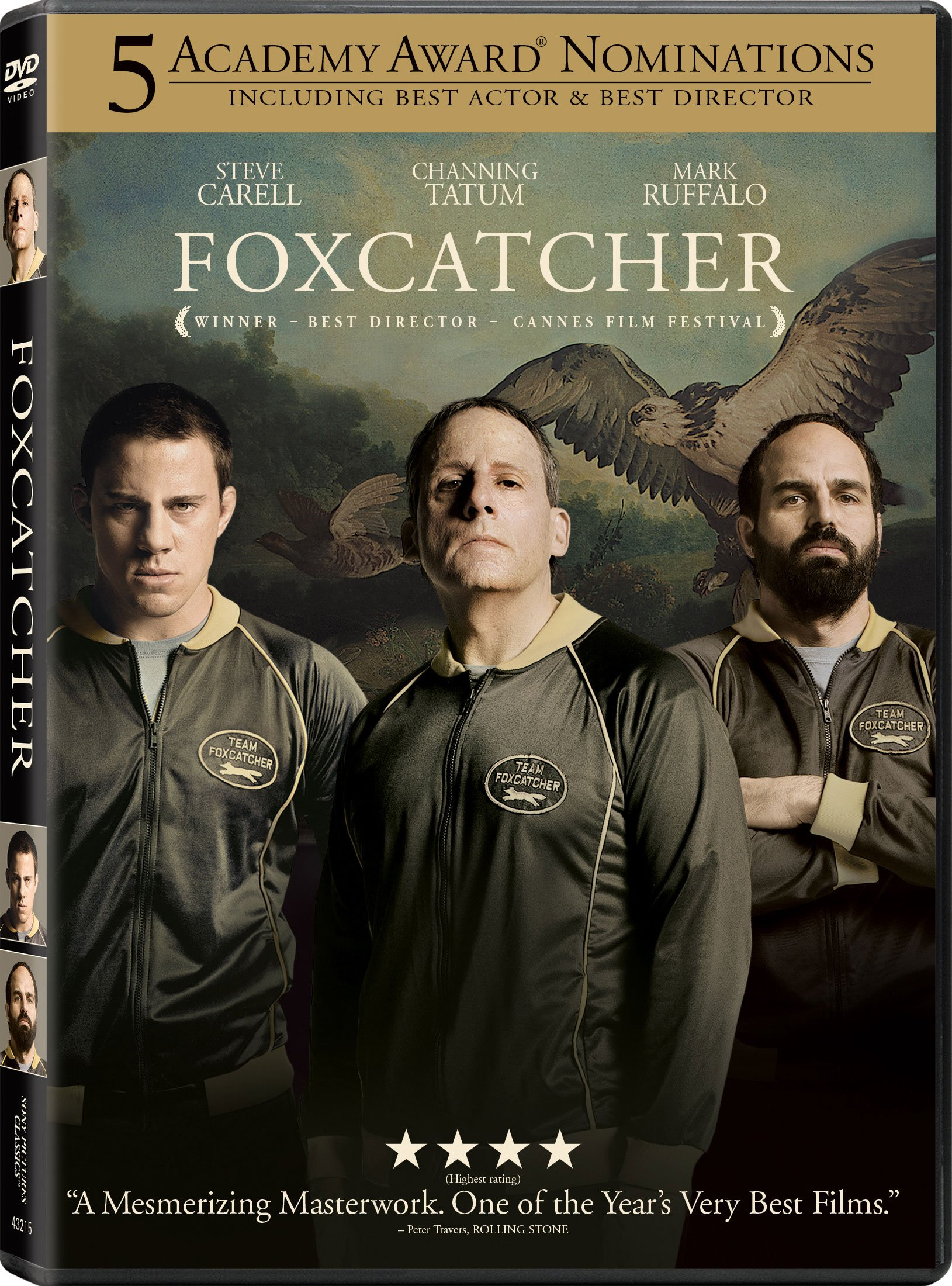 Foxcatcher DVD Release Date March 3 2015