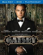 The Great Gatsby BluRay cover