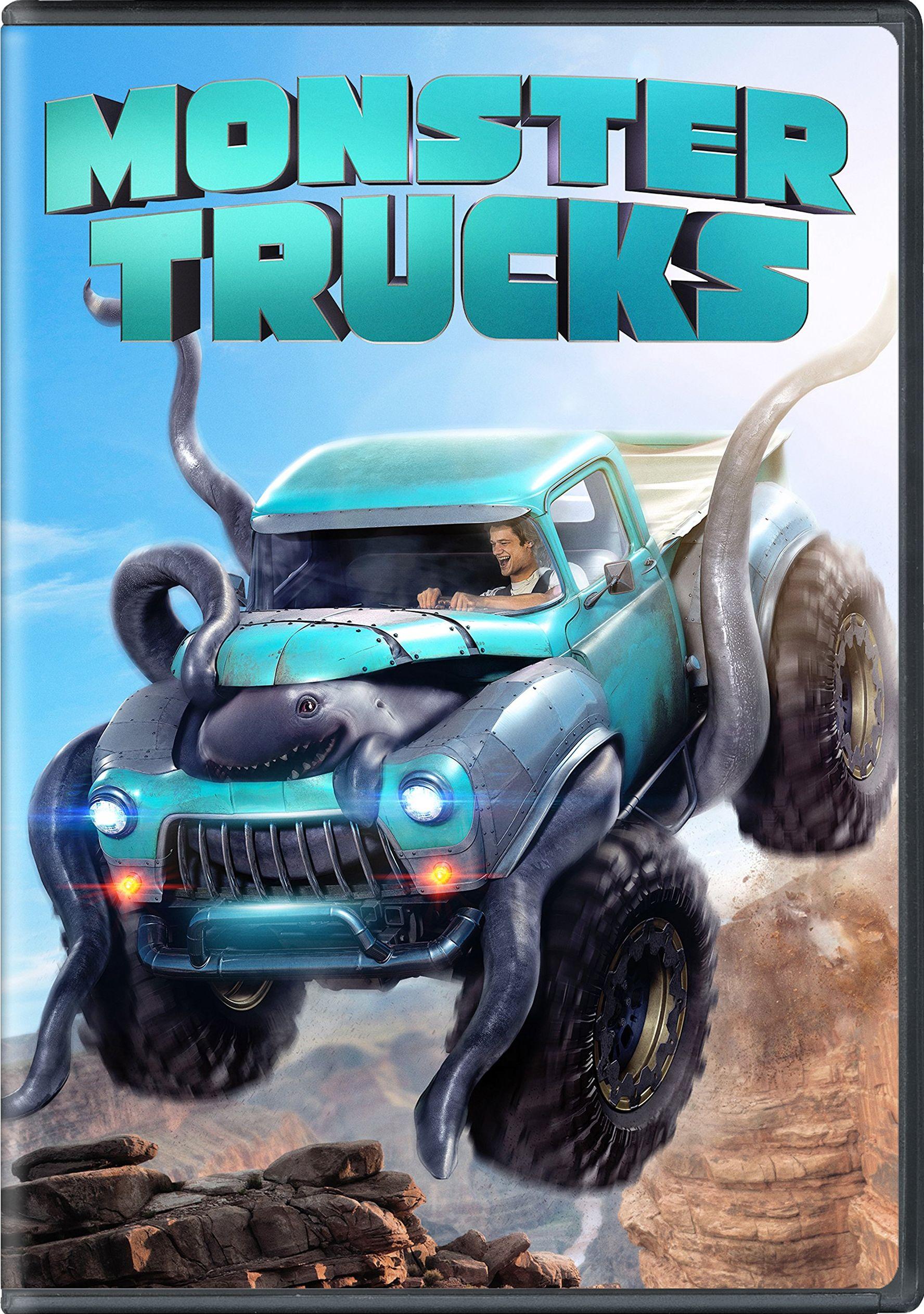 Monster Trucks DVD Release Date April 11 2017