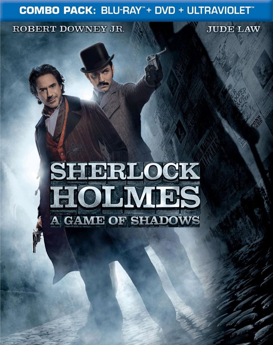 Sherlock Holmes: A Game of Shadows DVD Release Date June ...