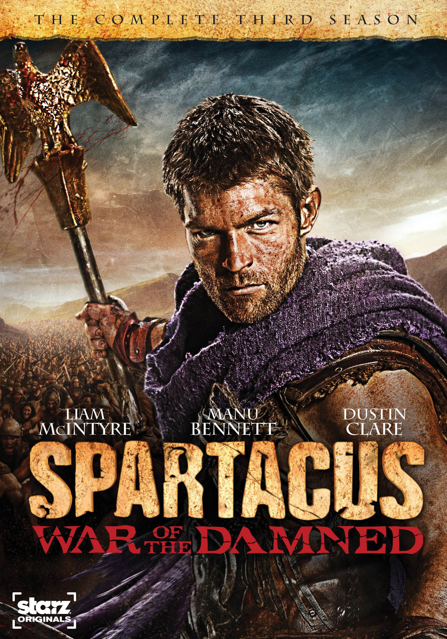 Spartacus Gods of the Arena DVD Release Date