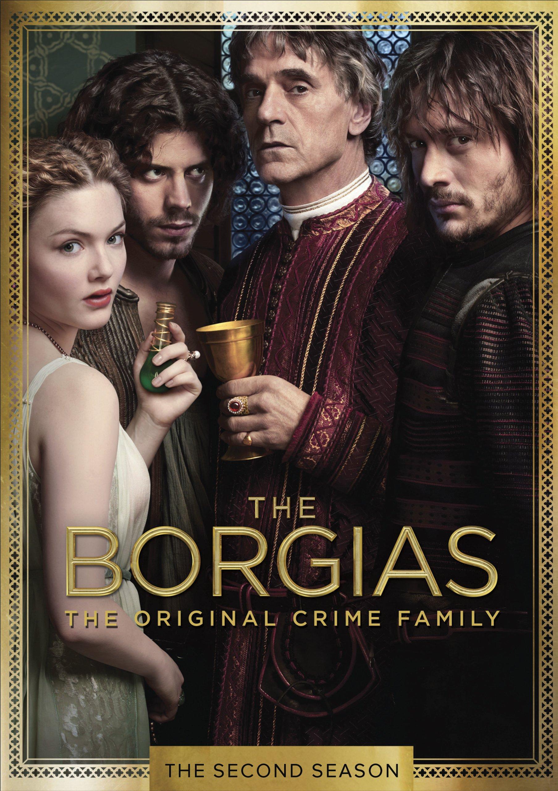 The Borgias DVD Release Date