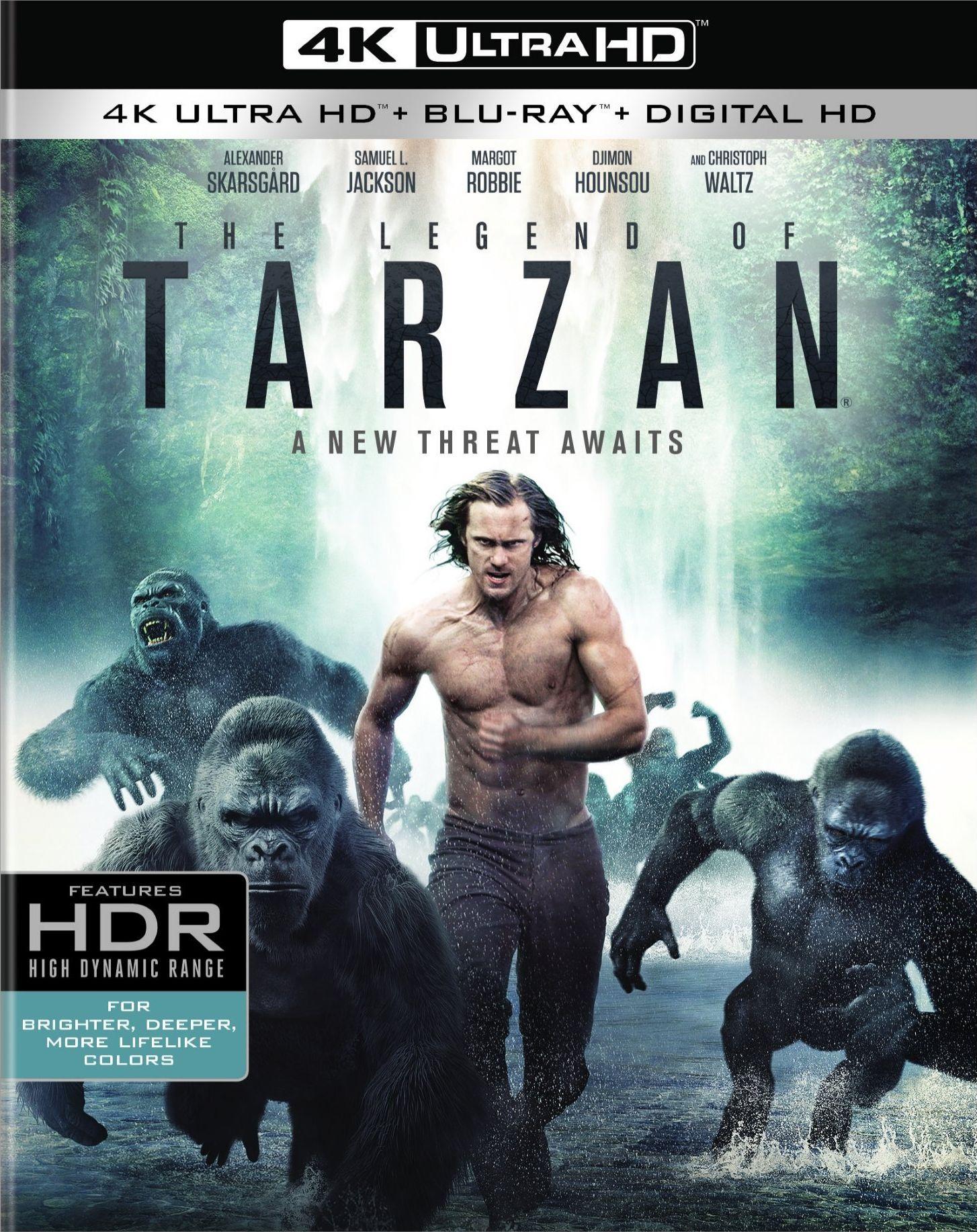 The Legend of Tarzan DVD Release Date October 11 2016