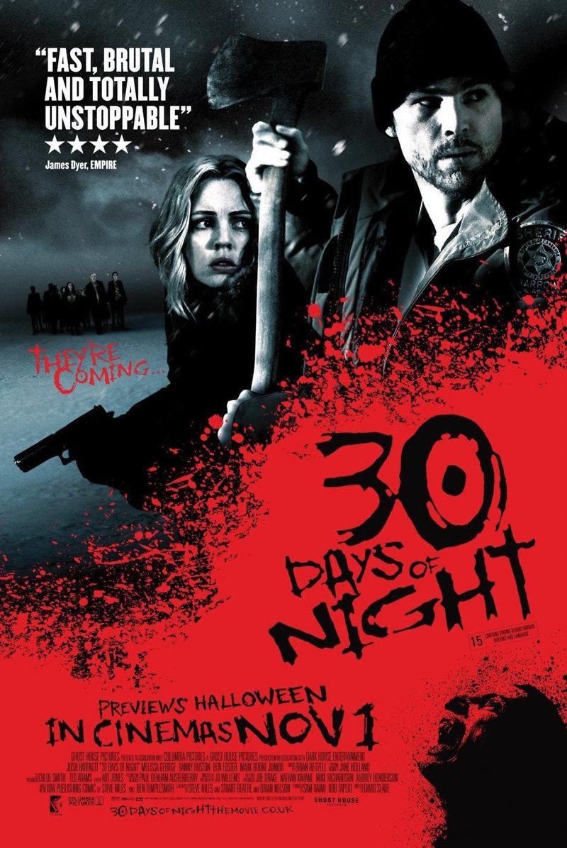 Image result for 30 days of night orignal poster