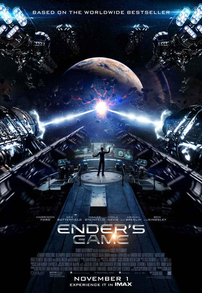 Enders Game DVD Release Date February 11 2014