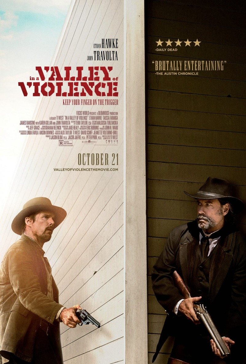 In a Valley of Violence DVD Release Date December 27. 2016