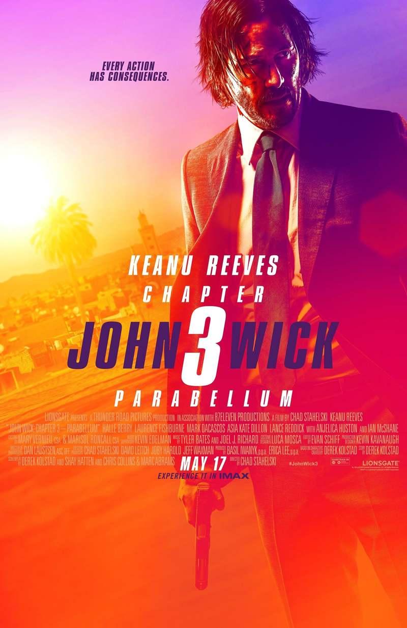 John Wick Chapter 3 Parabellum DVD Release Date September 10 2019
