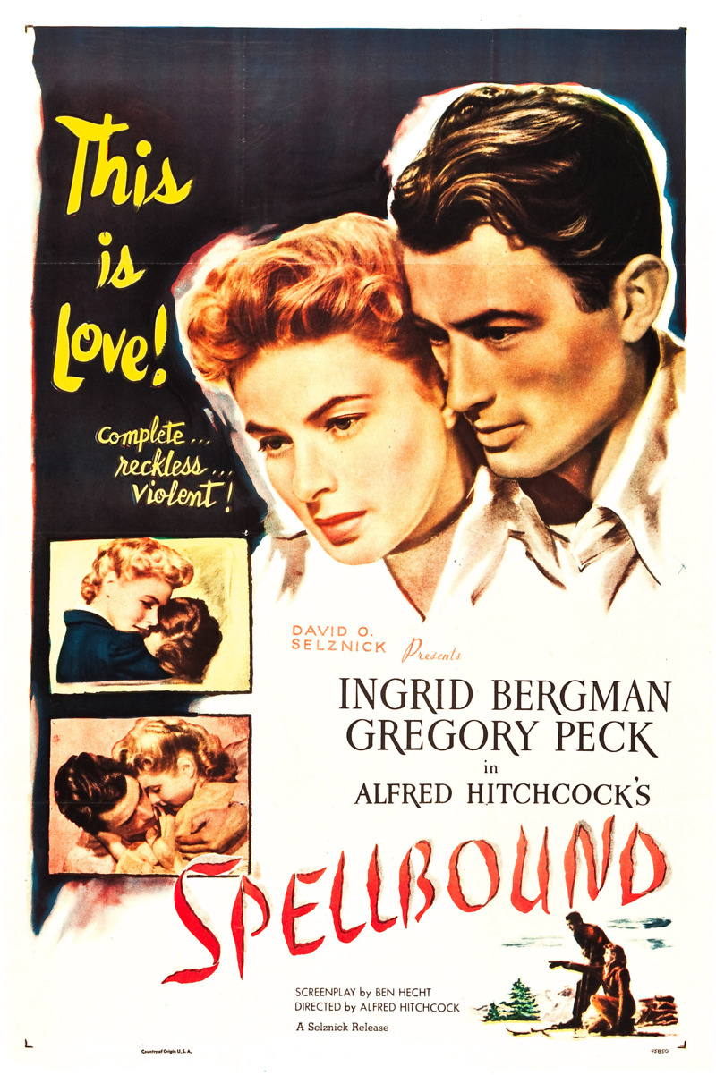 Image result for Spellbound 1945 Film