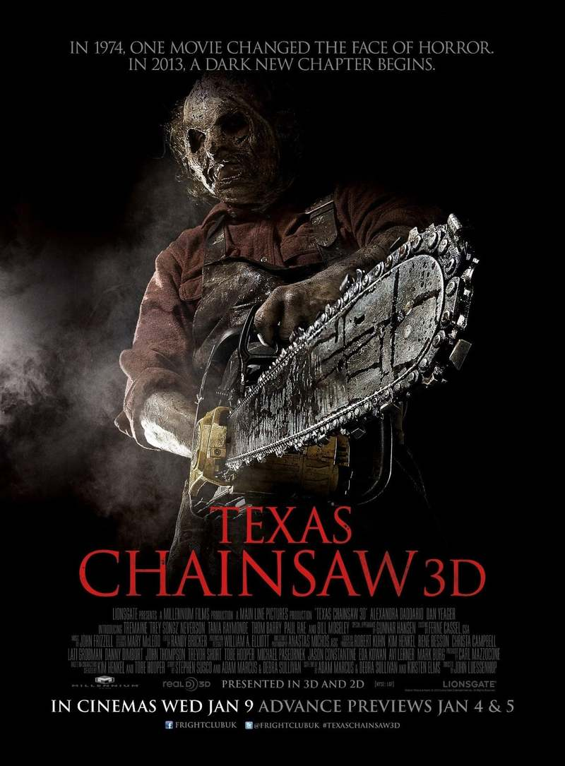 Texas Chainsaw 3D DVD Release Date May 14 2013