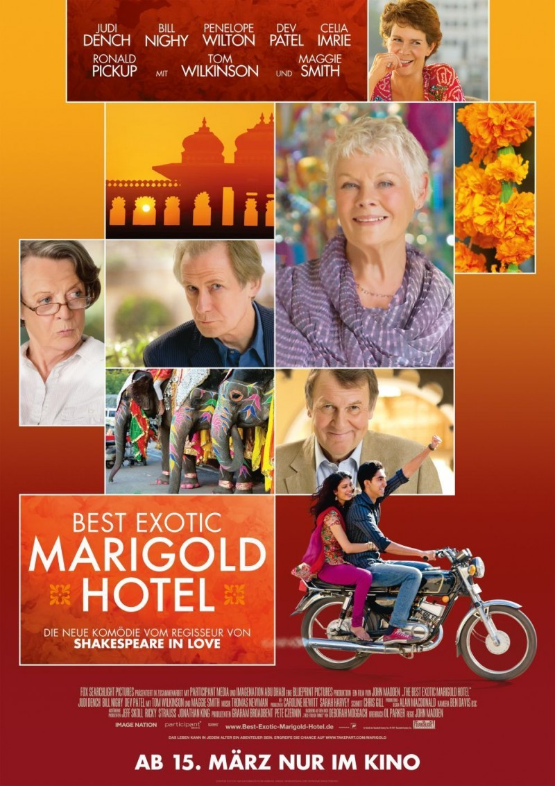 The Best Exotic Marigold Hotel DVD Release Date September 18. 2012