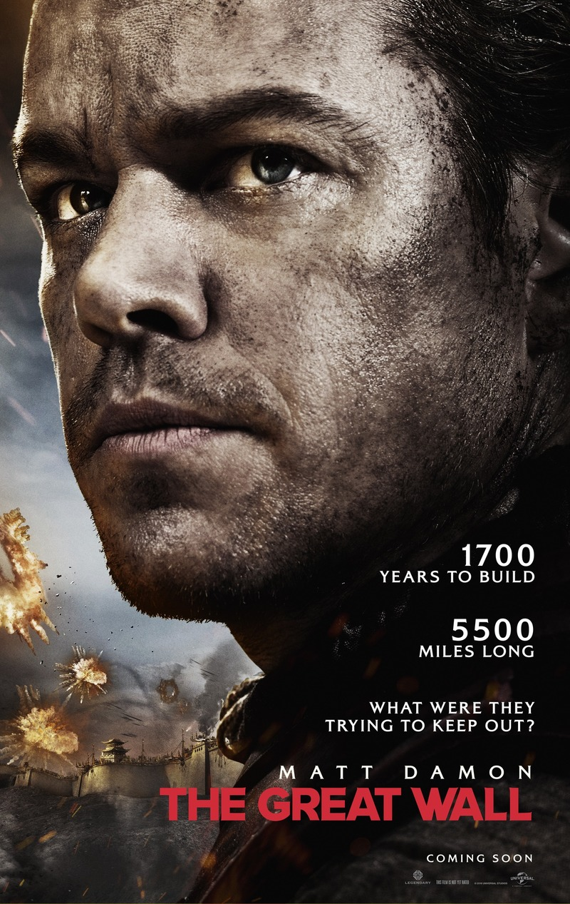 The Great Wall DVD Release Date May 23 2017
