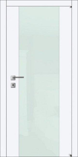 Межкомнатные двери Avangard A4.S со стеклом белым или черным