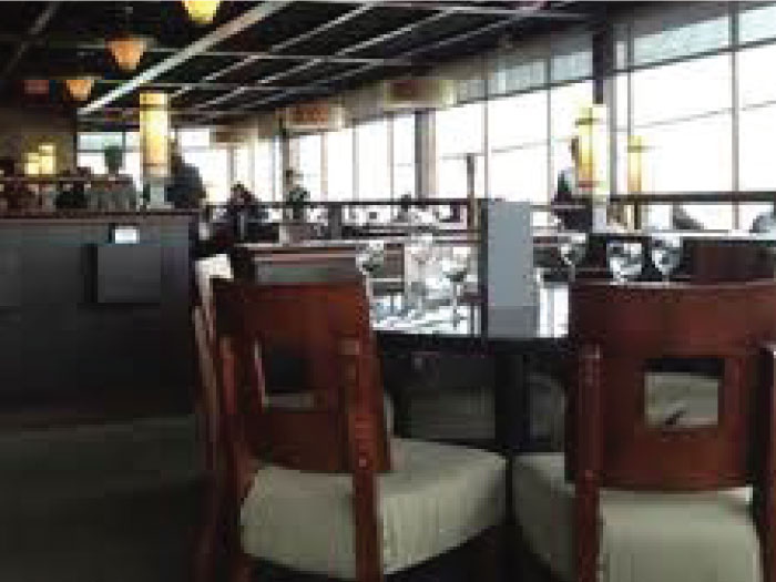 kitchen island with seating for 2 professional equipment boathouse restaurant | projects dvha hospitality ...