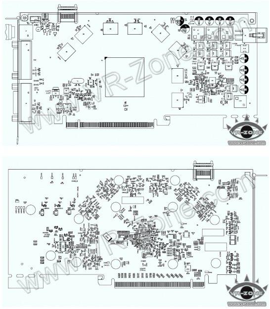 GeForce GTS 240 schematic diagram exposed