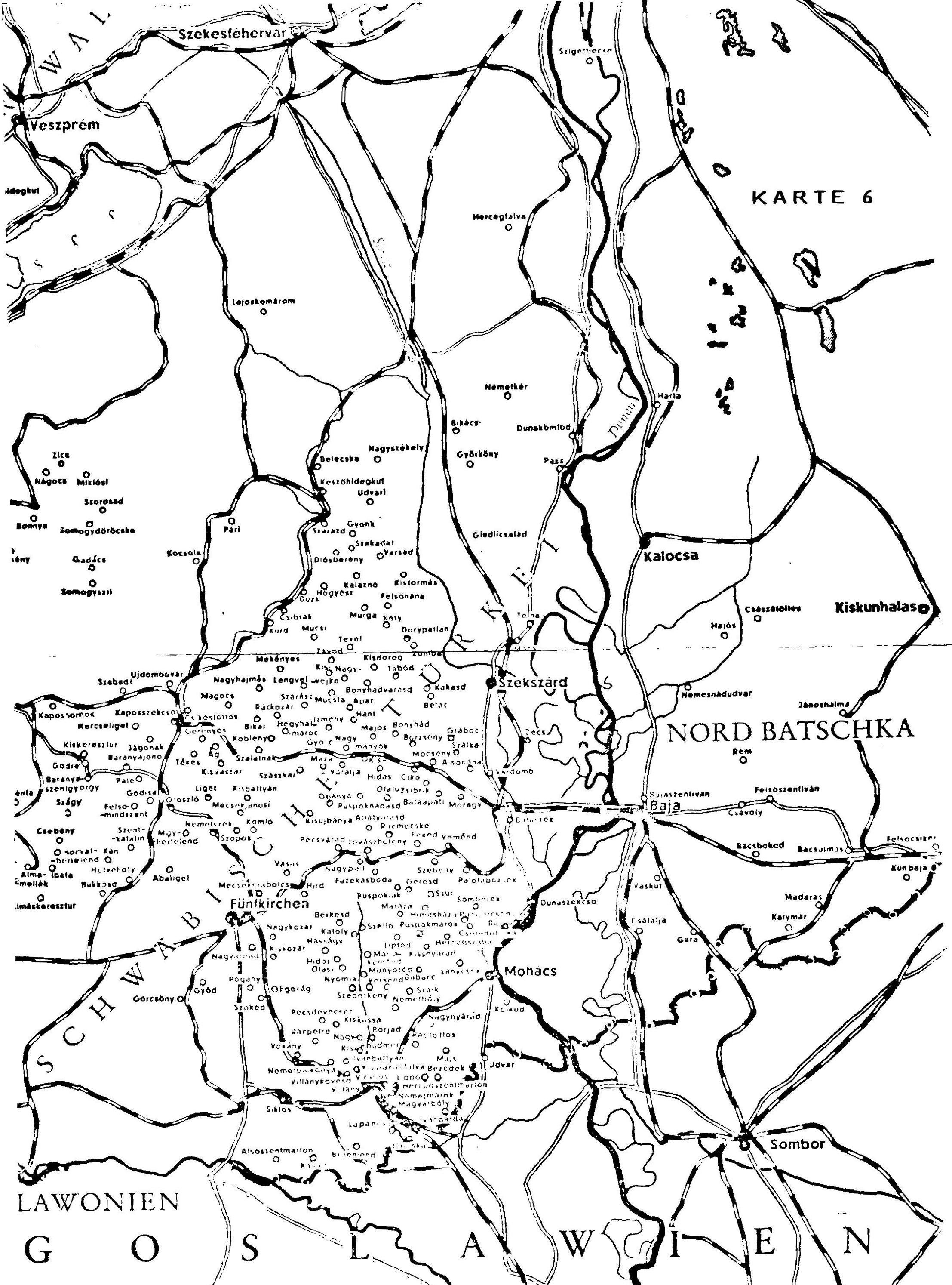 Hungarian German communities