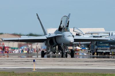 F-18 at Barnes