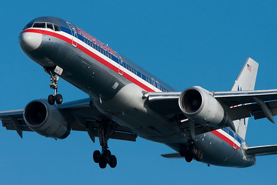 American 757 to BOS