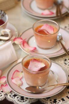 Rose Hips Jelly, Syrup, Custard