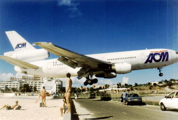 st maarten airport the