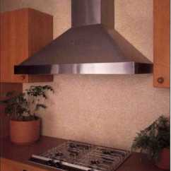 Quiet Kitchen Hood Prefab Outdoor Cabinets Vents- Vent-a-hood Europa Wall Mount