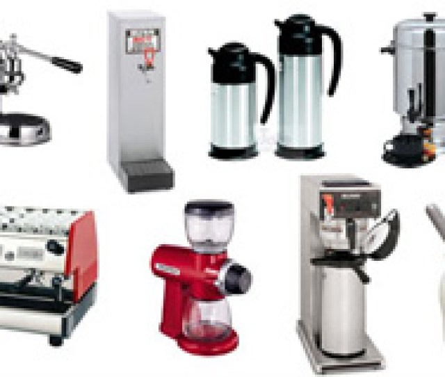 Coffee And Tea Equipment