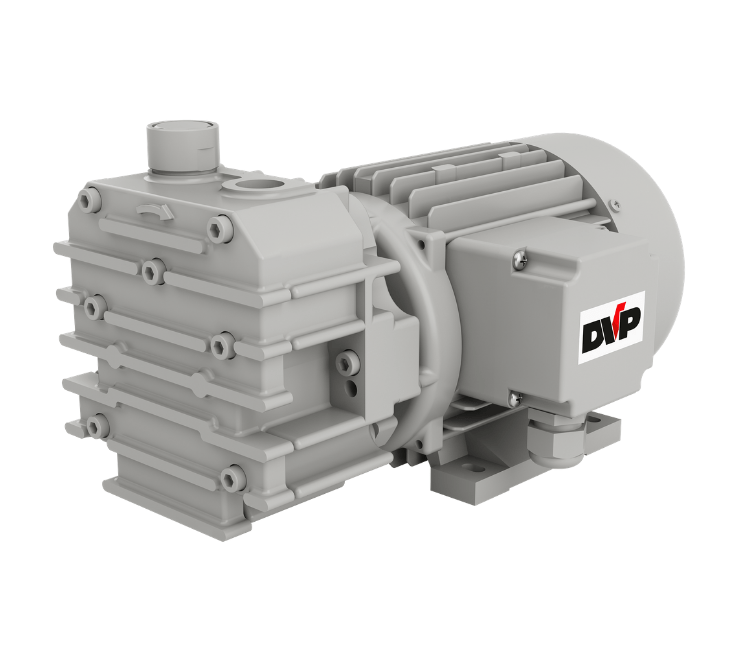 SB 10/SB 10TV/SB 12 oil free rotary vane vacuum pumps - DVP
