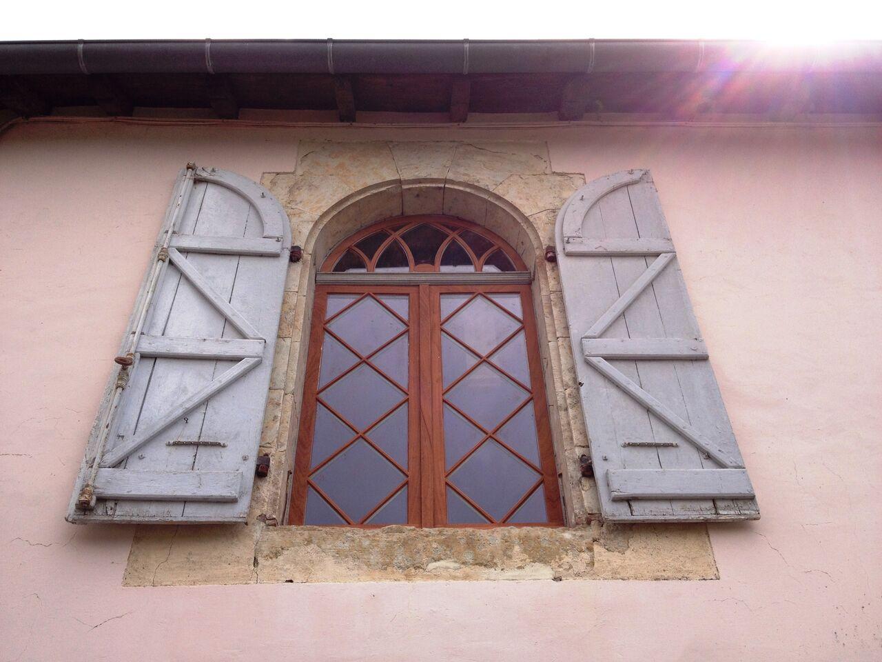 Fenetre en bois double vitrage for Prix double vitrage renovation